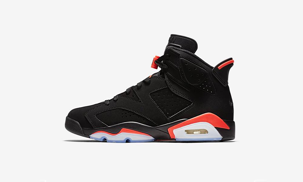 Release info: Air Jordan 6 Black Infrared