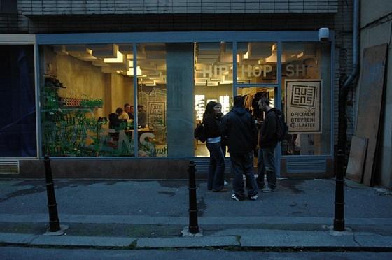 Back in da days: Otevíračka pražského shopu v roce 2005