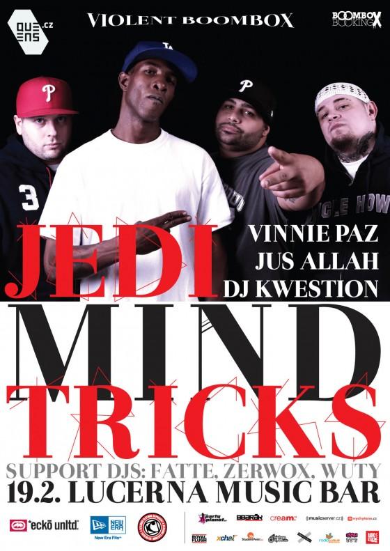 Support: Jedi Mind Tricks - Sága pokračuje