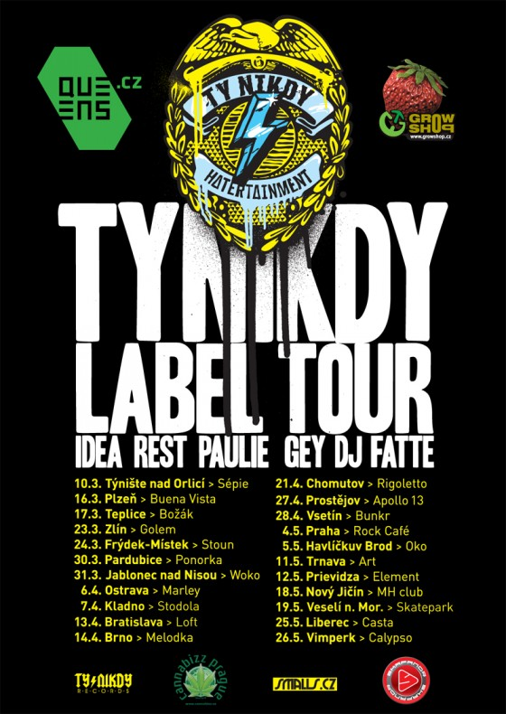 Support: Ty Nikdy Label Tour 2012