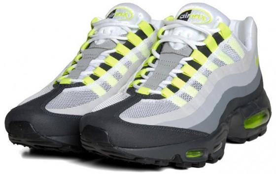 "Nike Air Max 95 Neon No-Sew ""Neon"" // detailní fotky!"