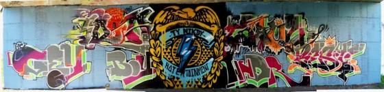 Queens.cz x Ty Nikdy Label x Graffheadz Team // Graffiti jam video