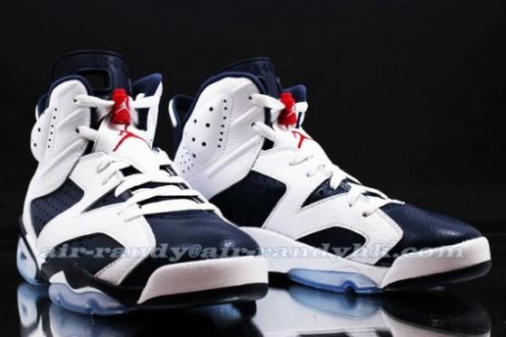 Air Jordan 6 Retro Olympic - první retro Jays v červenci!