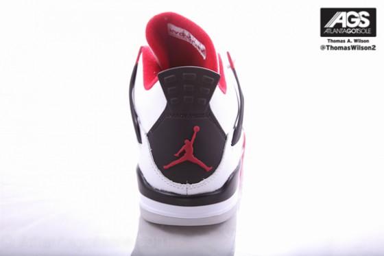 Air Jordan 4 Fire Red // Srpen 2012