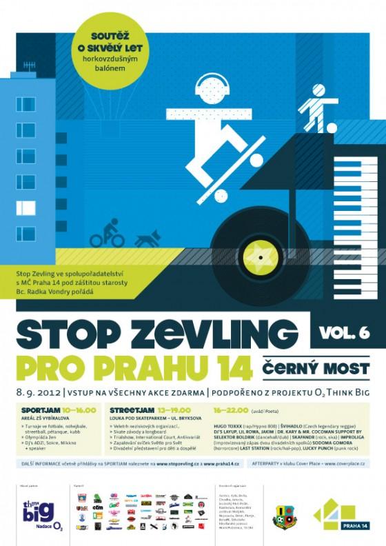 Festival Stop Zevling na Černém Mostě se blíží