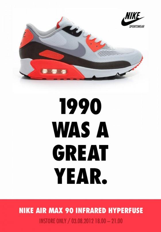 Nike Air Max 90 Hyperfuse Infrared - kompletní info k releasu!