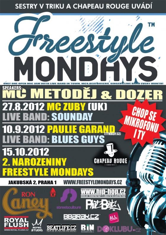 Paulie Garand na Freestyle Mondays v Chapeau Rouge už v pondělí - kdo chce jít zdarma? // UKONČENO!