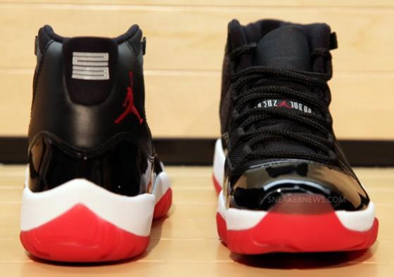 "Air Jordan XI Retro ""Bred"" / Detailní fotky!"