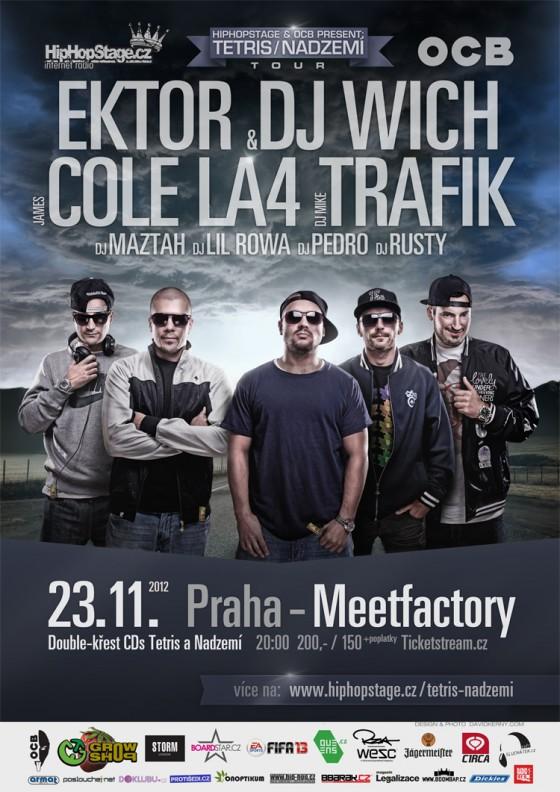 Support: Tetris / Nadzemí Tour 2012 @ MeetFactory Praha