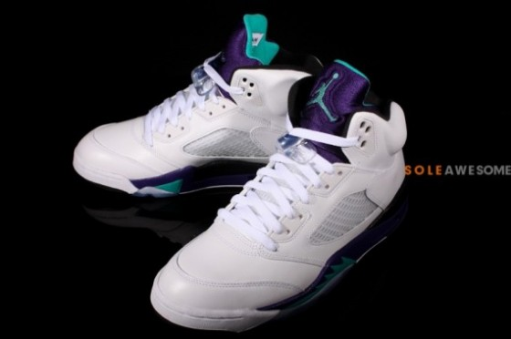 "Air Jordan V Retro ""Grape"""