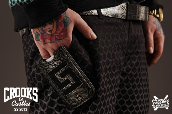 Crooks & Castles spring/summer 2013 preview feat. Sergei Barracuda