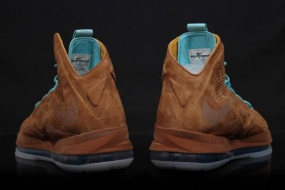 "Nike LeBron X EXT ""Brown Suede"" / Fotky + release date info // AKTUALIZOVÁNO"