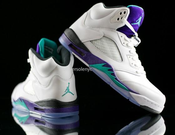 """Air Jordan V Retro """"Grape"""" / Oficiální fotky"""