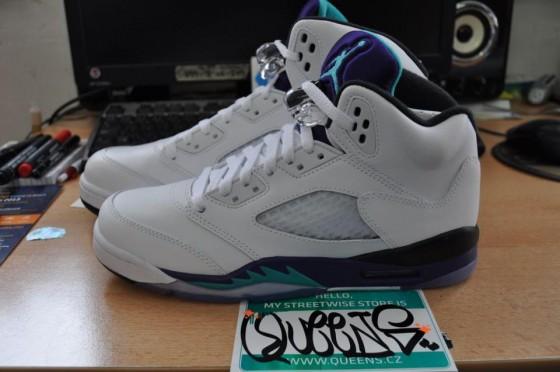 "Air Jordan V Retro ""Grape"" / Release date info"
