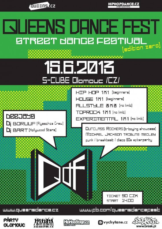 Queens Dance Festival v Olomouci už v sobotu 15.6.2013