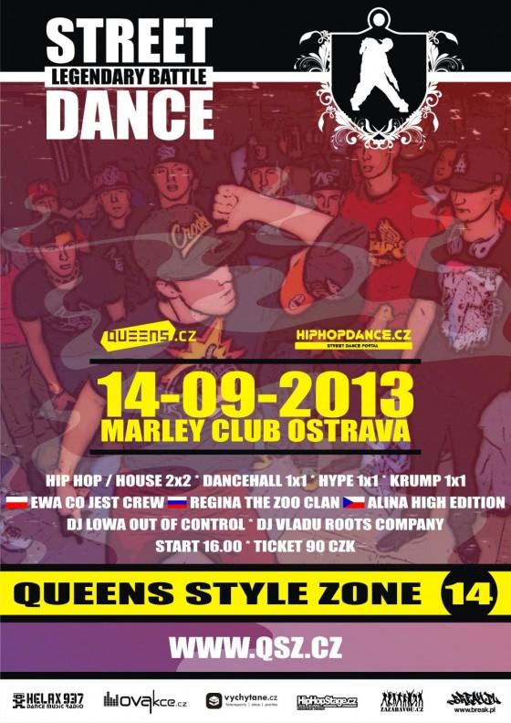 Legendární street dance battle je zpět.  Queens Style Zone tuto sobotu opět v Ostravě.