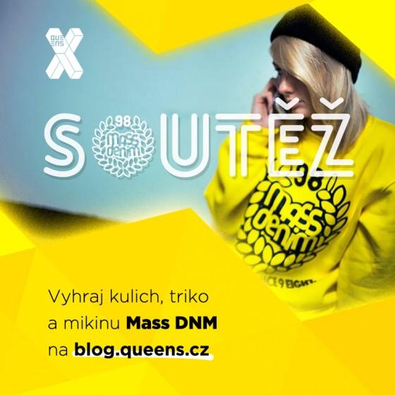 Vyhraj kulicha, tričko nebo mikinu od Mass DNM #queens10let // AKTUALIZOVÁNO