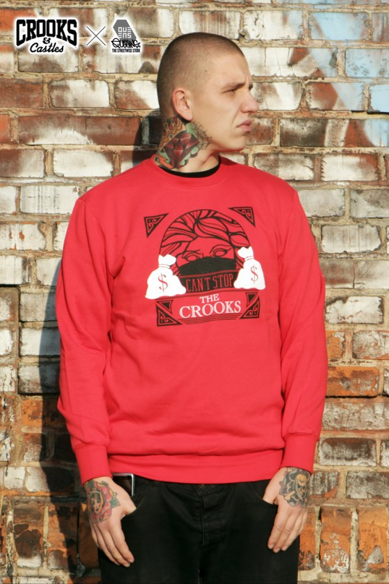 Crooks & Castles x Sergei Barracuda