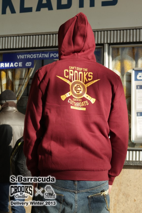 Crooks & Castles x Sergei Barracuda / Winter 2013 Part II.