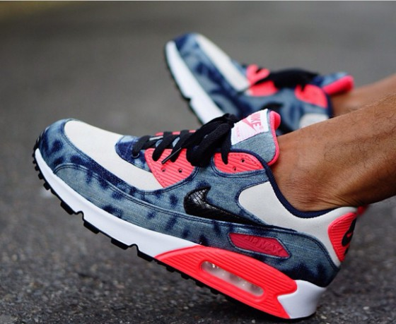 "Nike Air Max 90 ""Infrared Washed Denim"" / Release info"
