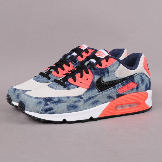 Nike Air Max 90 Washed Denim Infrared / Instore restock info