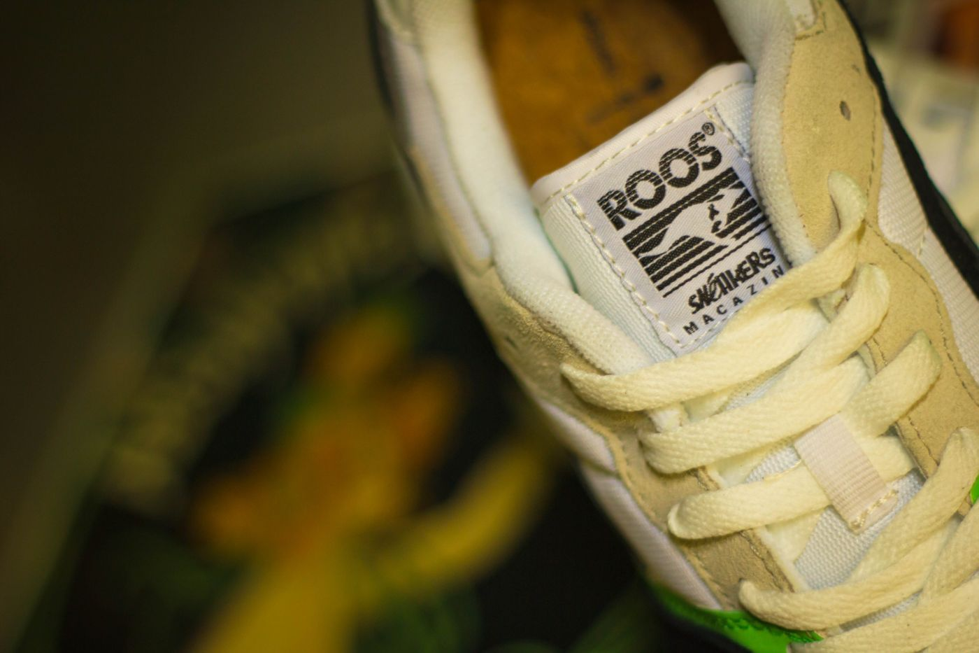"Sneakers Magazine x KangaROOS Omnicoil ""Absinthe"" 