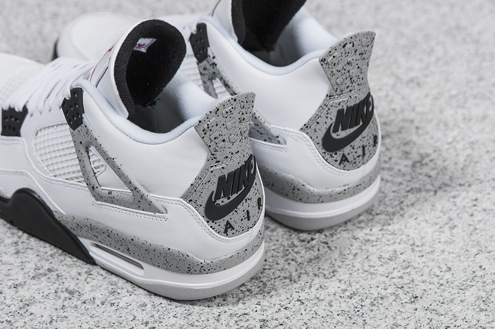 "Air Jordan IV Retro ""White Cement"" 