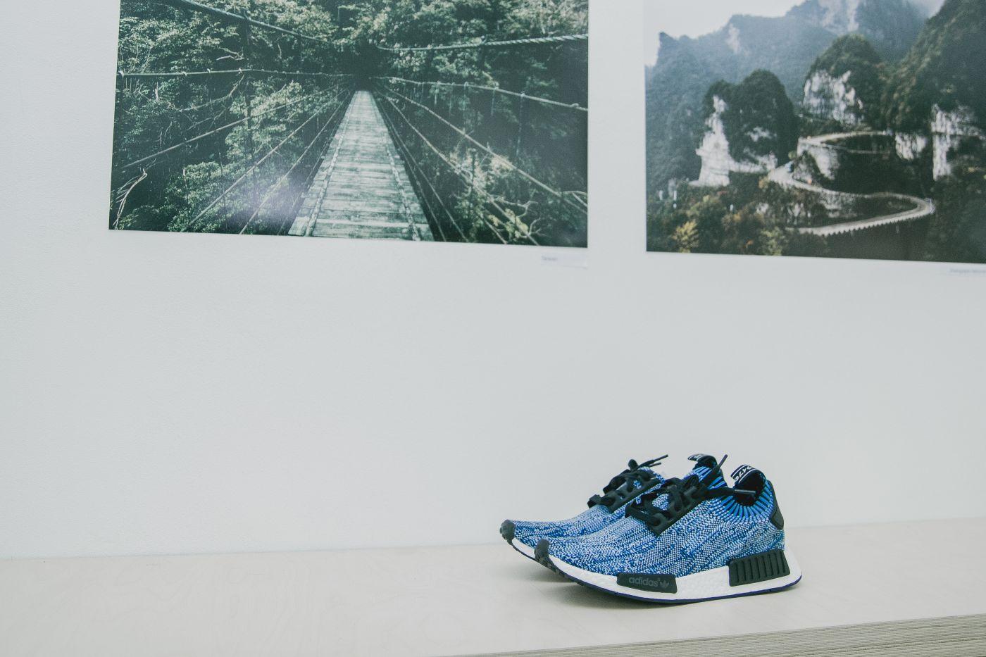 Jak to vypadalo na výstavě fotografií Adama Bakaye a pre-release party adidas NMD?