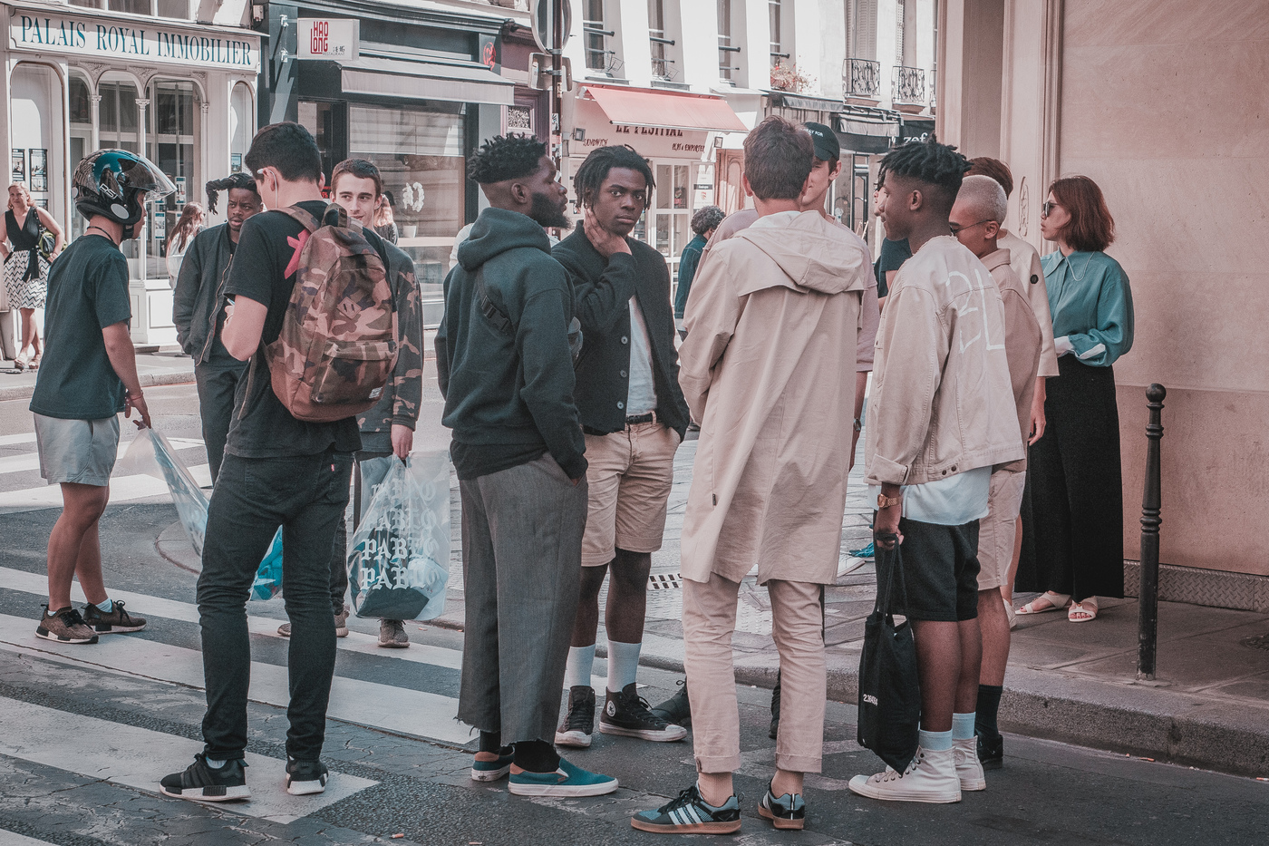 StreetStyle z Pařížškého Life of Pablo Pop-up Storu