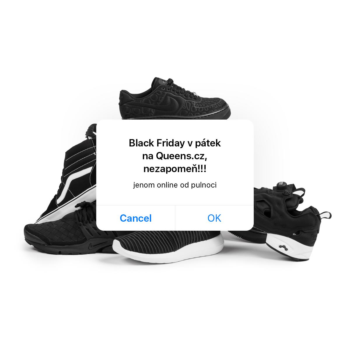 Black Friday zasáhne i Queens už tento pátek!