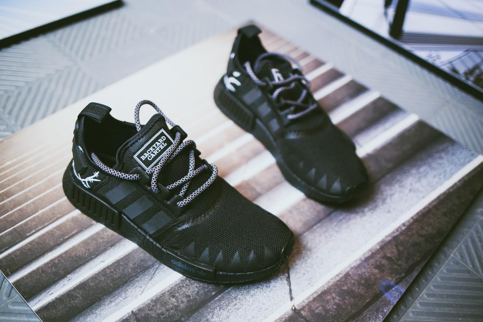 BYC x adidas NMD x Zulu Kuki customs