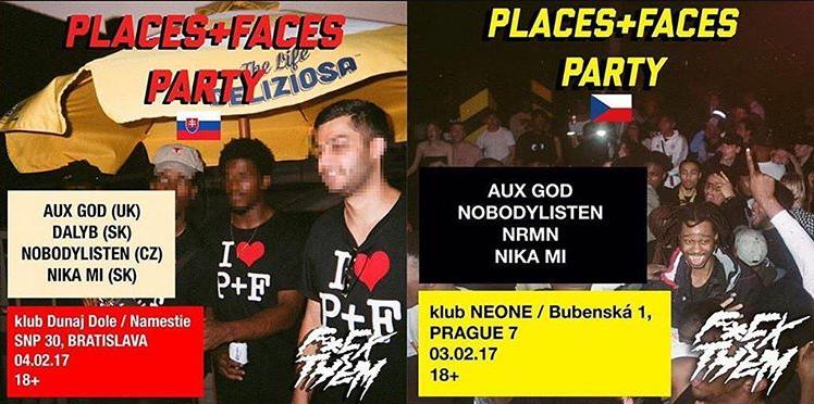 PLACES + FACES x F*CK THEM pop-up shop už tenhle pátek!