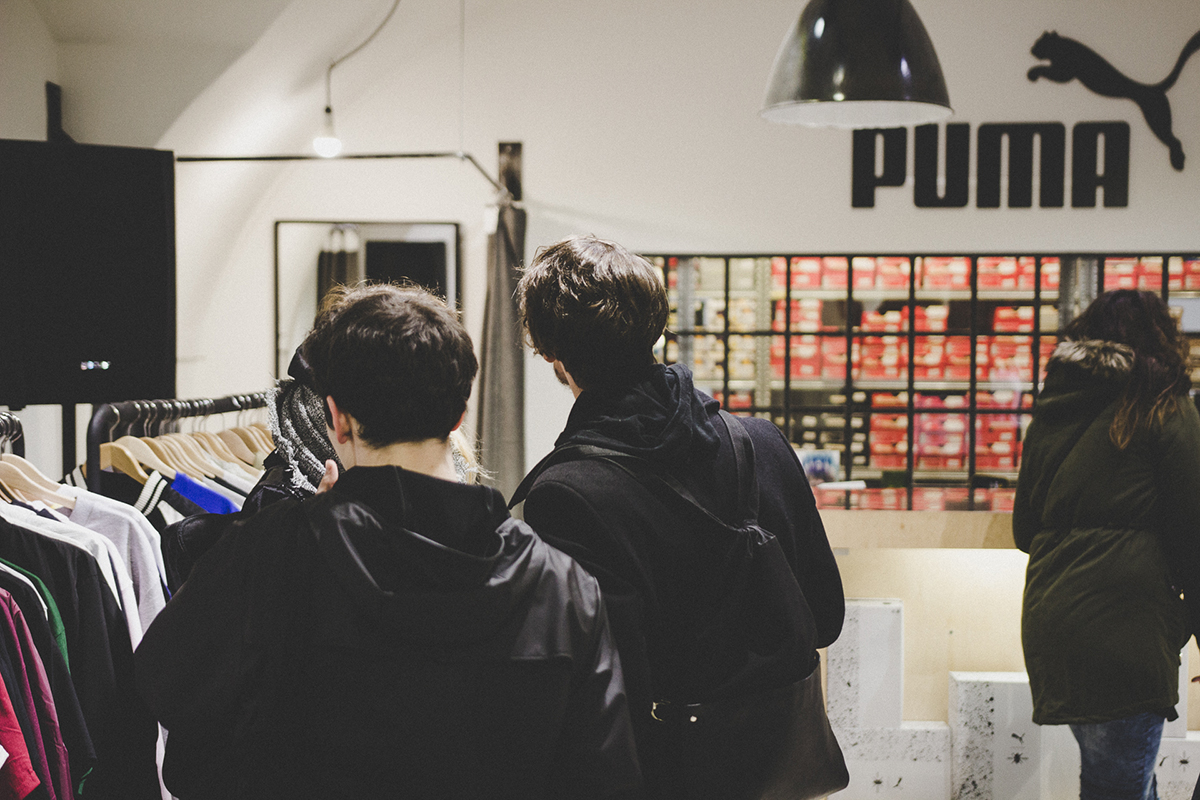 Launch event PUMA x Daily Paper