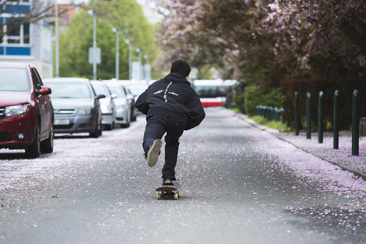 Queens x Maxim Habanec | Skate of Mind merch S/S 17 lookbook