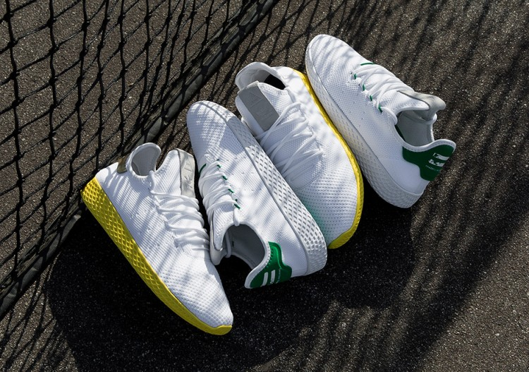 Pharrell Williams x adidas Tennis HU  75afe8f375