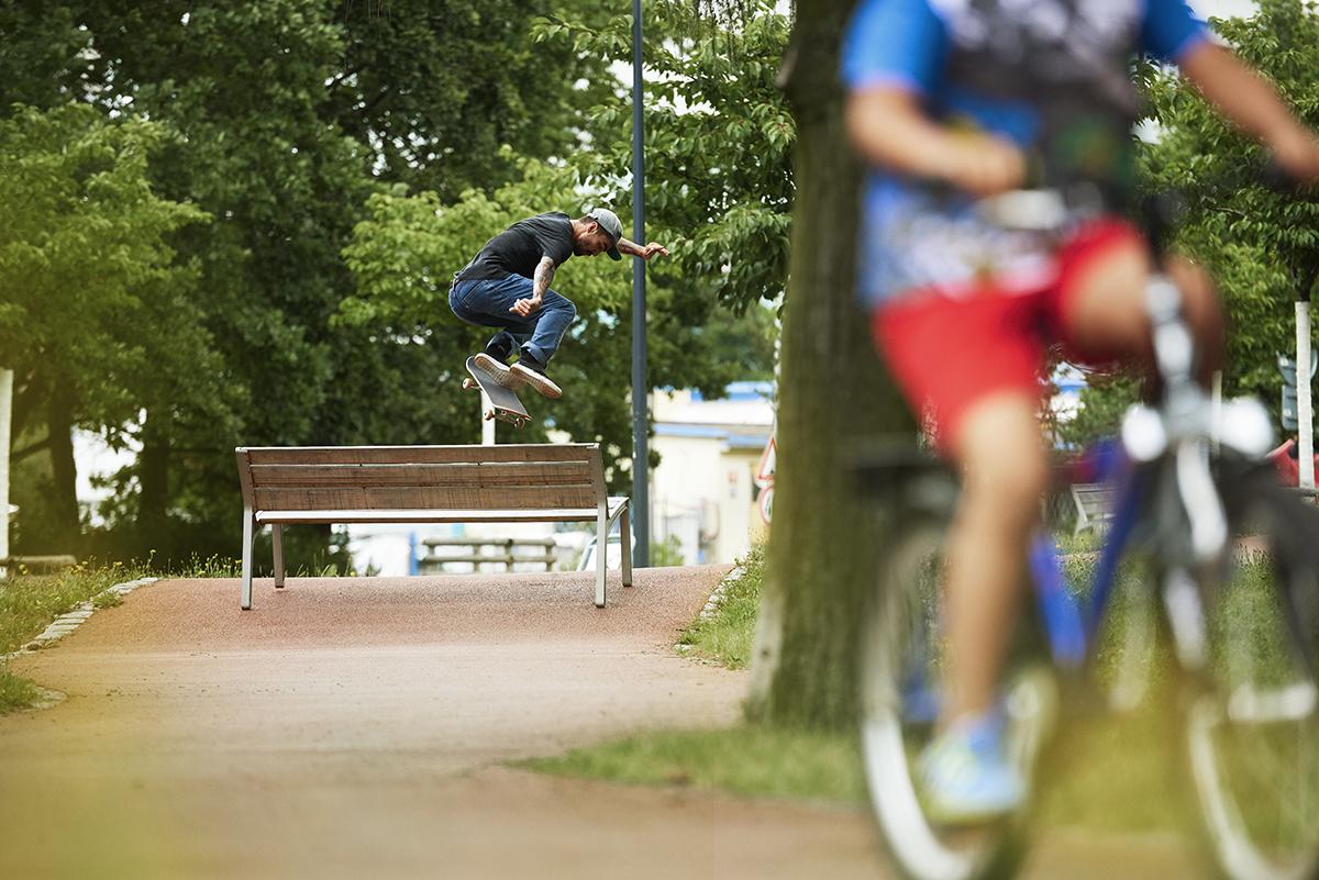 Pražský lookbook Levi's skateboarding pro SS18 část 1.