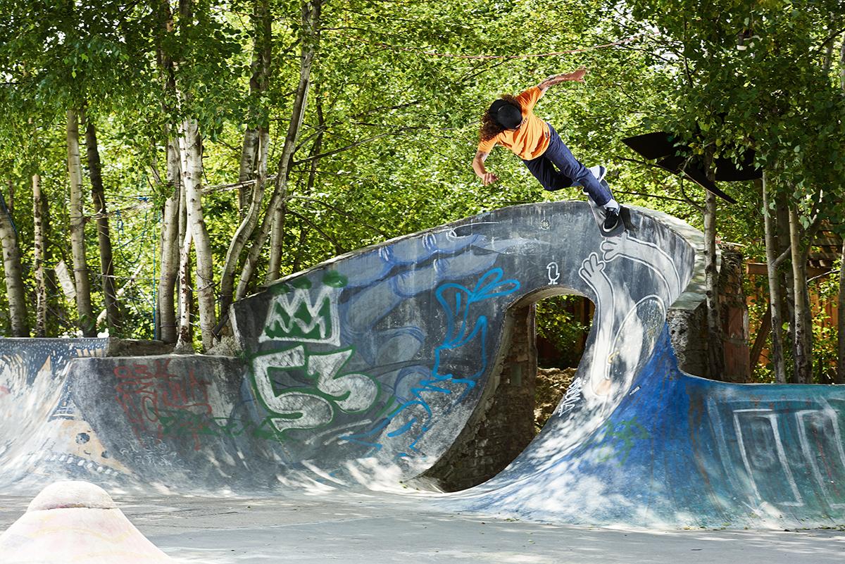 Pražský lookbook Levi's skateboarding pro SS18 část 2.