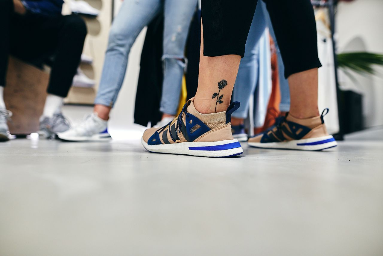 Report | adidas Arkyn release party s Emmou Smetana