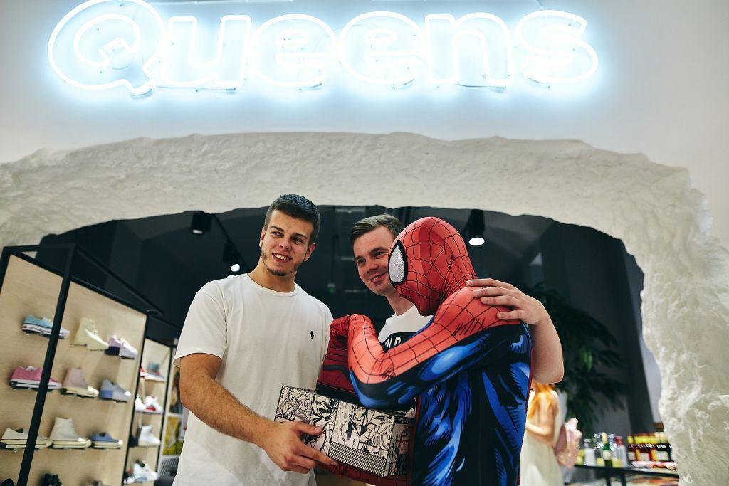 Report z Vans x Marvel instore releasu