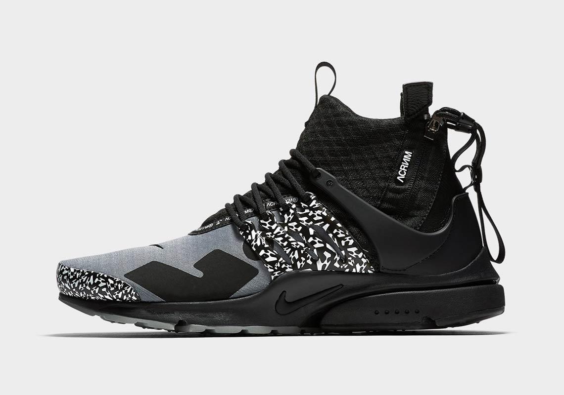 Release info: Acronym x Nike Air Presto Mid