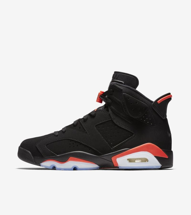 Release info: Air Jordan 6 Black Infrared