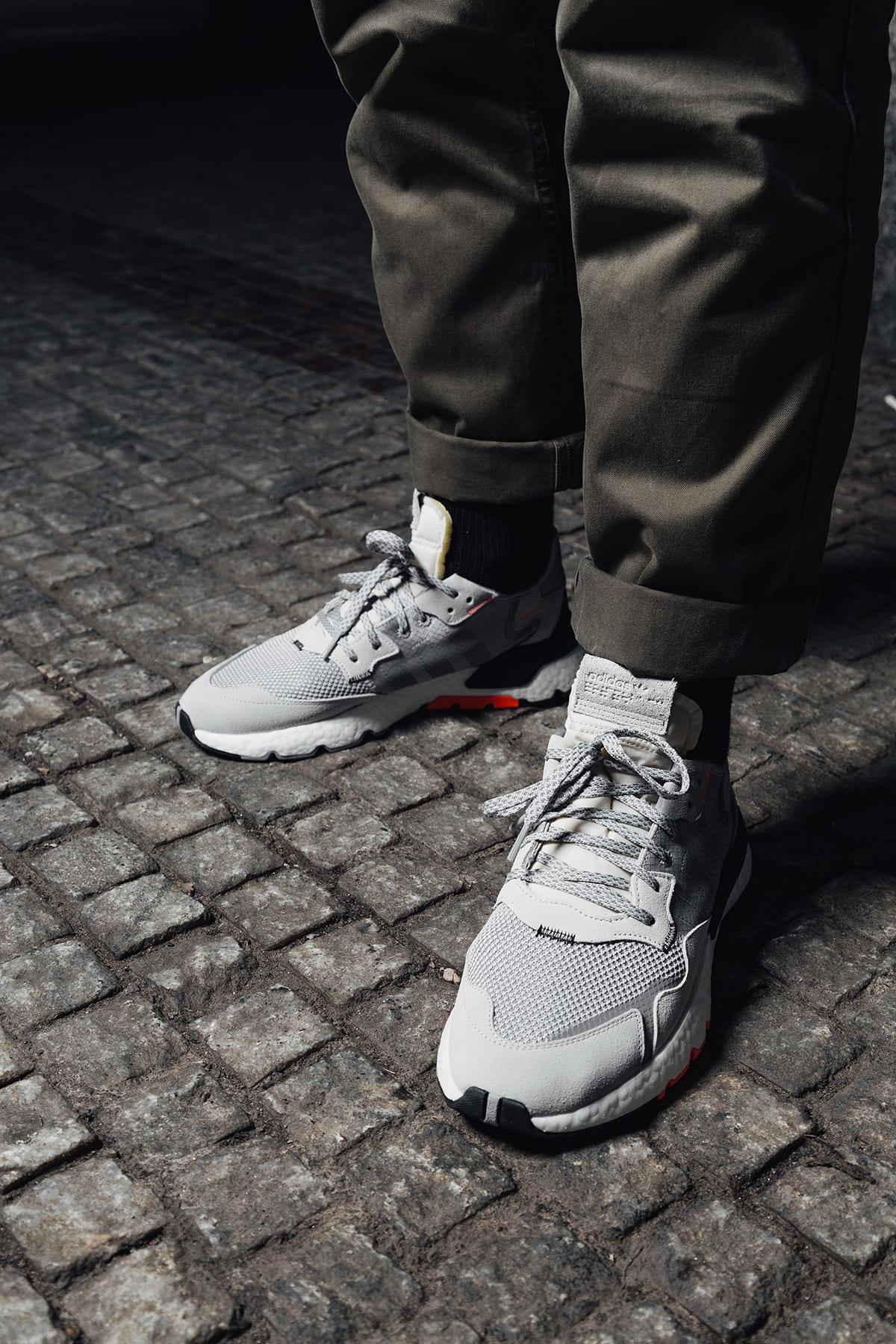 adidas Nite Jogger v ulicích pražské Letné