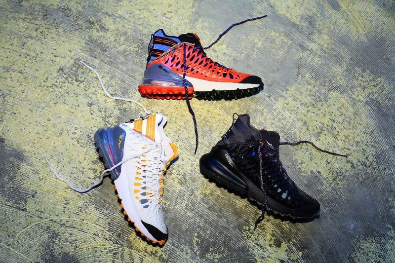 Experiment s názvem Nike ISPA – futuristický koncept navrhování tenisek a oblečení