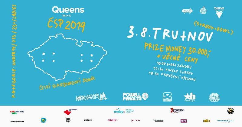 Český skateboardový pohár 2019 feat. Queens