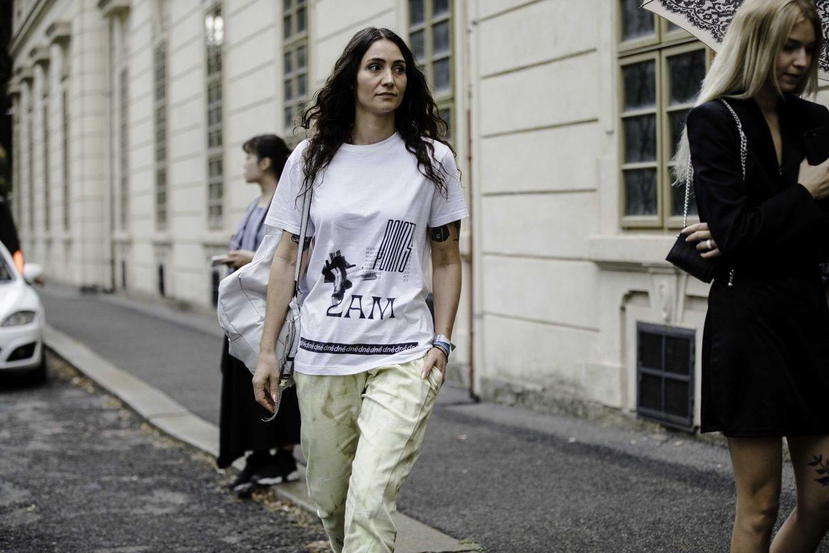 MBPFW steetstyle: Balenciaga a Dior