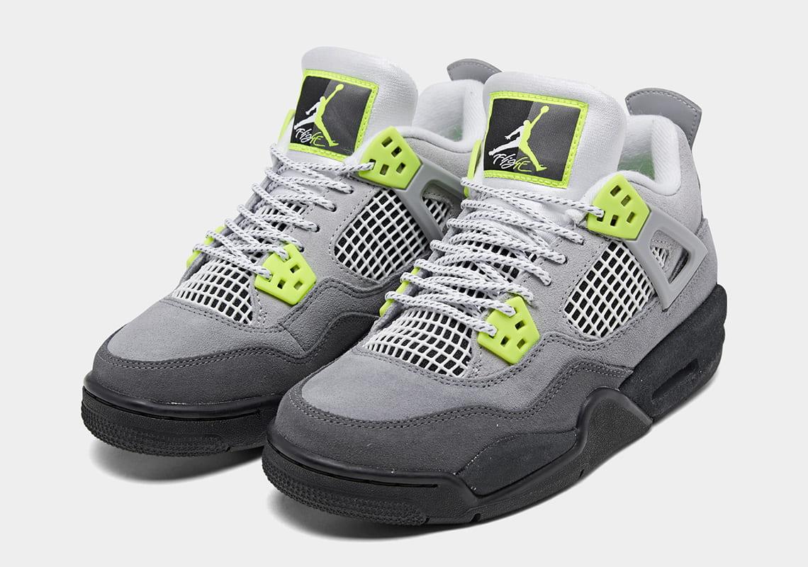"""Air Jordan Retro 4 Se """"Neon"""""""