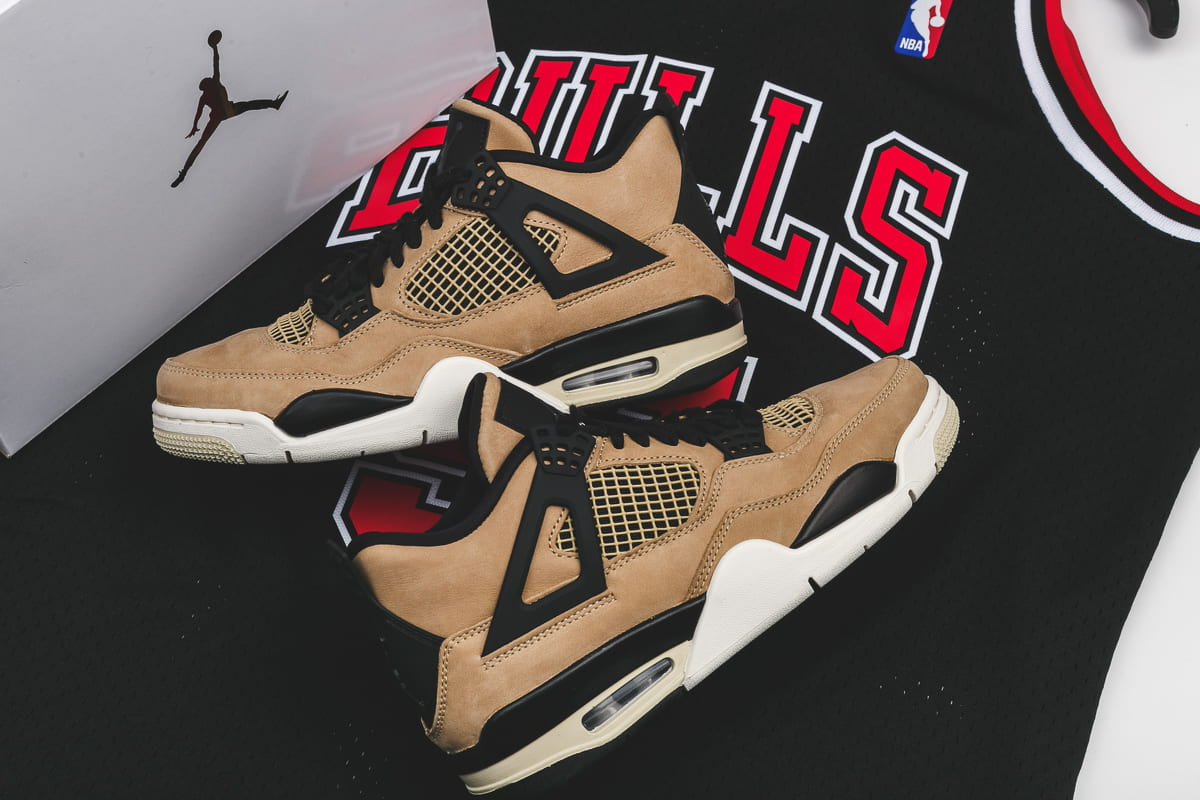 """Air Jordan 4 """"Mushroom"""""""